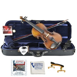 Kennedy Violinsmakes both of these full-size violin outfits for beginning violinists and student musicians. The G1 and G2 wooden acoustic violins come complete with everything you need, from the case […]